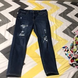Super High Waisted American Eagle Jeggings